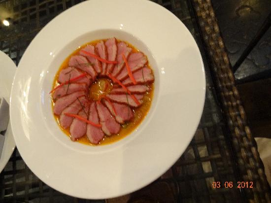 Mazzaro Boutique and Restaurant: Red curry Smoked duck