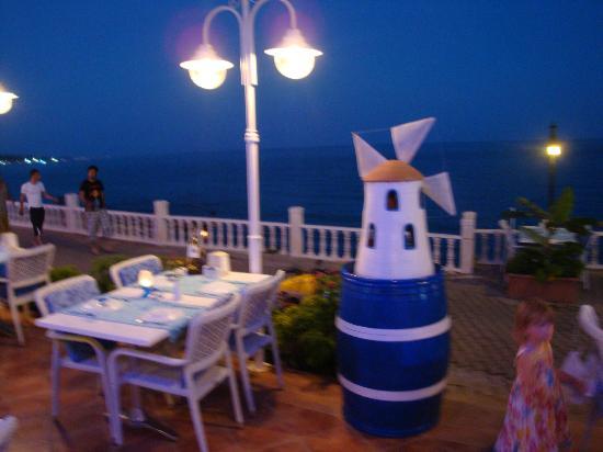 Soundwaves Restaurant: view