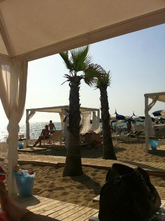 Lido Mediterraneo: Tenda struttura