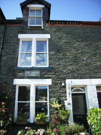 Oakthwaite House: The front of our lovely property!
