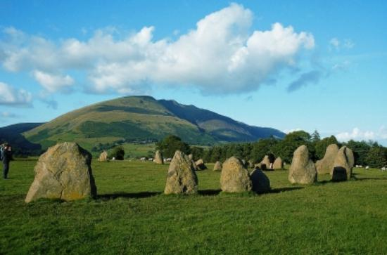 Oakthwaite House: Castlerigg stone circle 1hour walk away from Oakthwaite