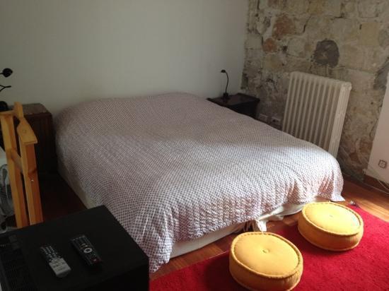 Loft Paris: la chambre