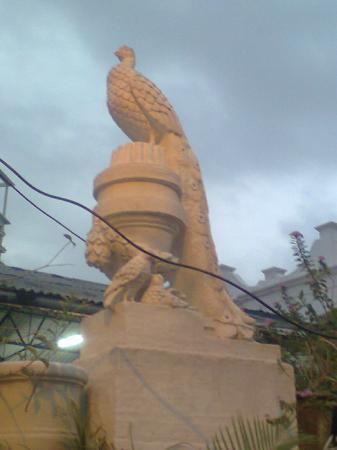 Babulnath Temple: Elegant peacock