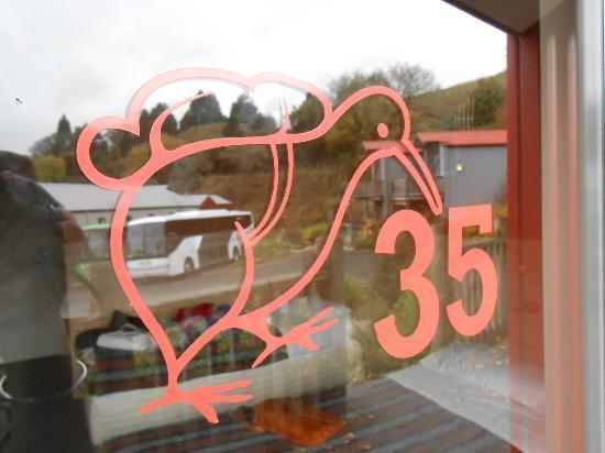 Kiwi Paka Waitomo : The front door :)