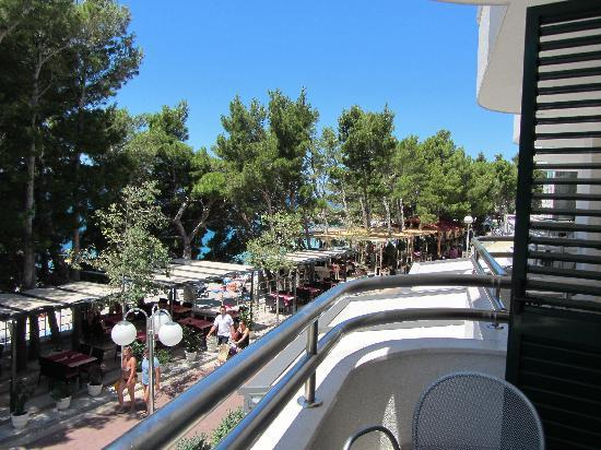 Milenij Hotel: Balcony