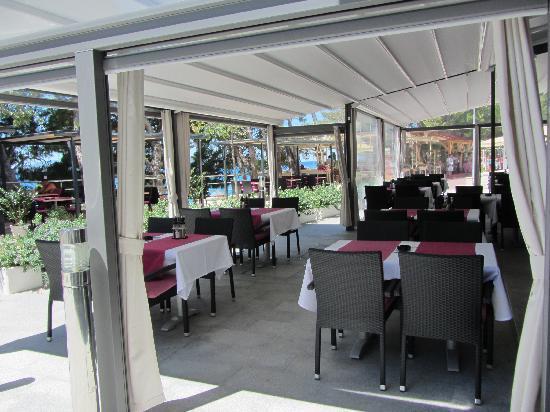 Milenij Hotel: Hotel Terrace 