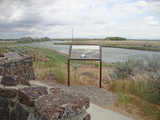 Minidoka Internment National Monument: Signs located throughout the monument