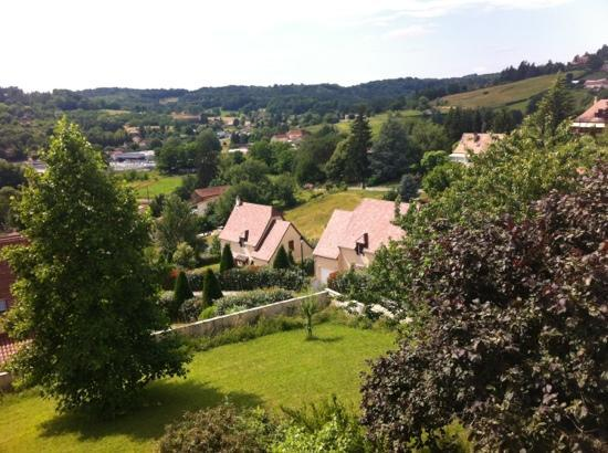Les Tilleuls : view from the room