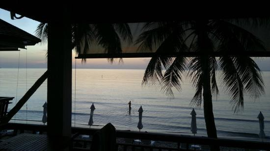 Samui Paradise Chaweng Beach Resort: Early morning view from Paradise Suite terrace