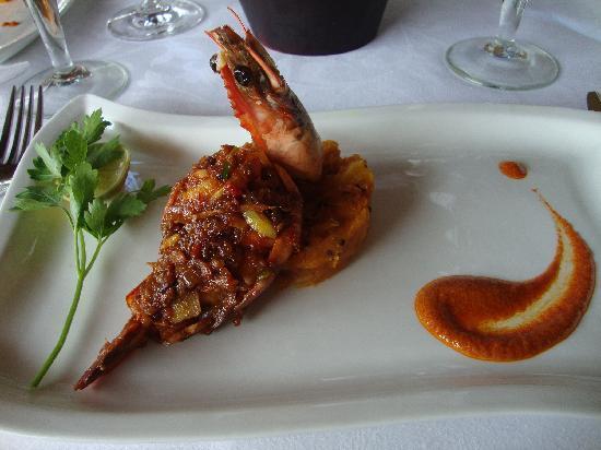 Taj Malabar Resort & Spa Cochin: At the restaurant