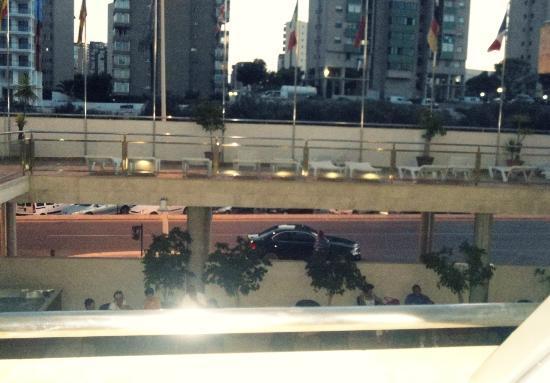 Carlos I Hotel: solarium desde la habitacion