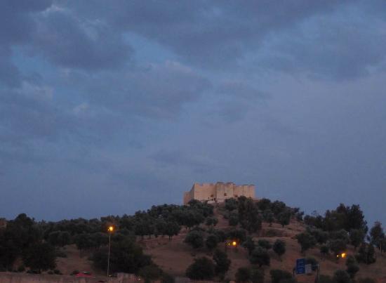 Riad Ghita: le borj sud vu de la terrasse