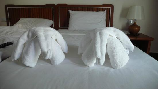 Paisiri Hotel : Фигуры из полотенец
