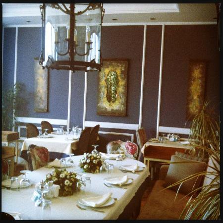 korfez restaurant: deco