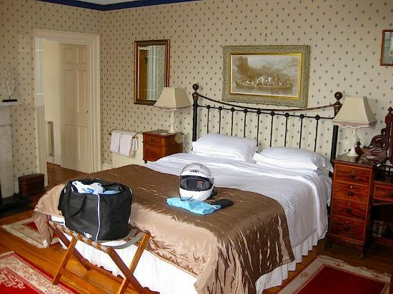 The Old Priory Bed and Breakfast: This is one very comfy bed.