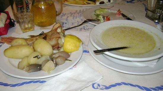 I Kali Kardia (The Good Heart) : kali kardia traditional fish soup