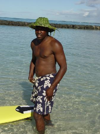 Fish Tobago Tours: bruce on the beach