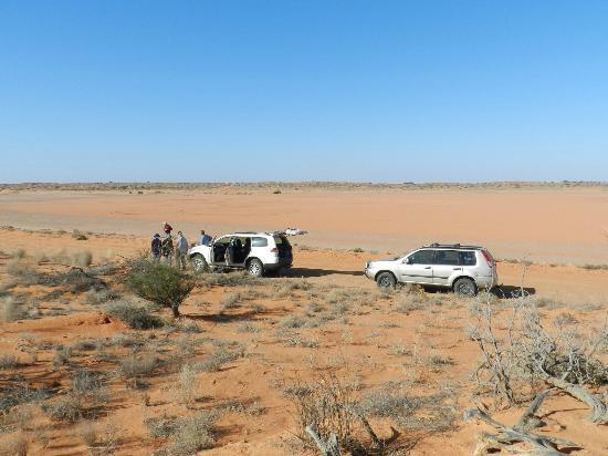 Arid Areas Day Tours: A stop for photos and to learn more about the local area.
