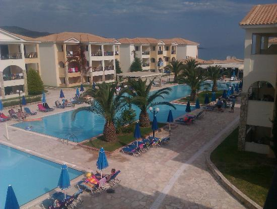 Alykanas Village Hotel: our balcony view