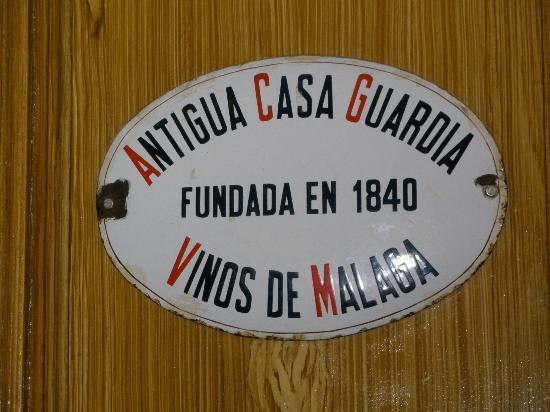 Antigua Casa de Guardia: c'est ici !
