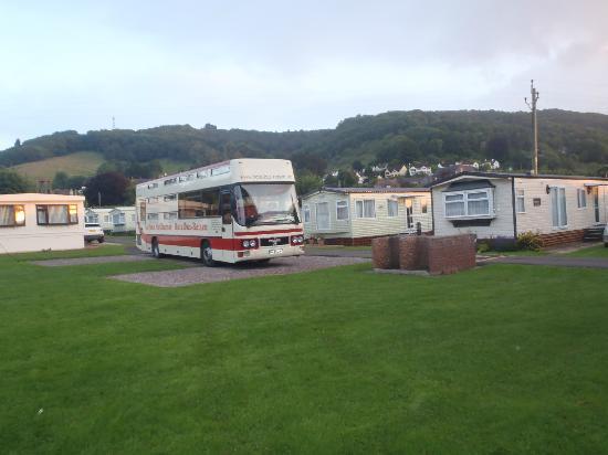 Porlock Caravan and Camping Park : Porlock Caravan Park