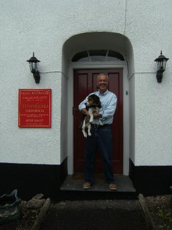 Townsend Farmhouse B & B: Warm welcome from Nick