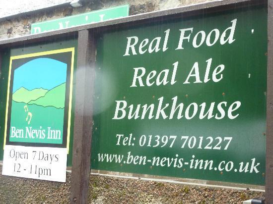 Ben Nevis Inn and Bunkhouse: Ben Nevis Inn