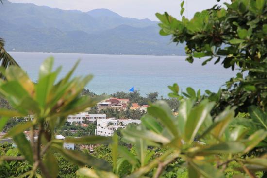 Boracay Private Mt. Casitas Villa: View from balcony 