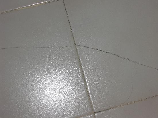 Dai Nam Hotel: Bathroom floor