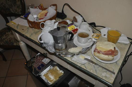 Casa Di Barbano: Café da Manhã
