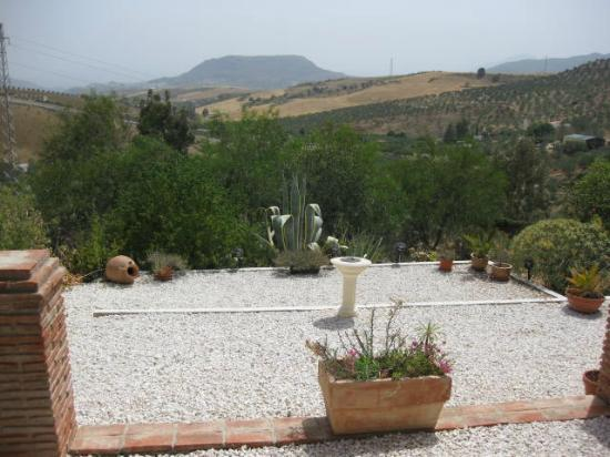 Cortijo Valverde: View from the dining terrace