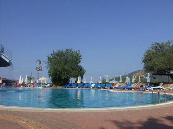 Ovacik, Turkey: pool area