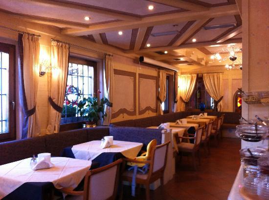 Hotel Piz Galin: area per la colazione