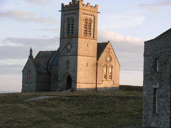 Lundy Island: The church of St Helena