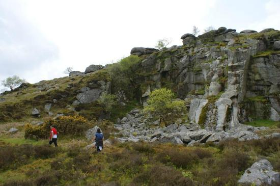 Holwell Holiday Cottages: The old mine workings