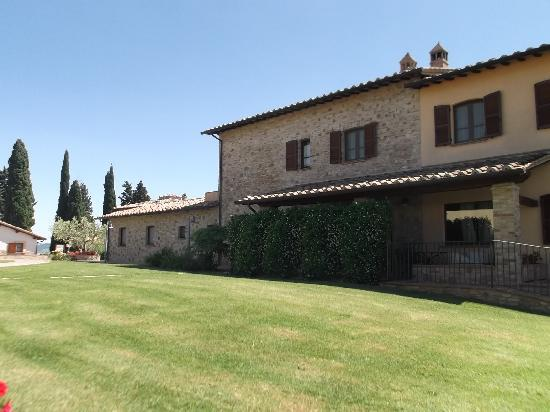 Borgobrufa SPA Resort: la struttura centrale