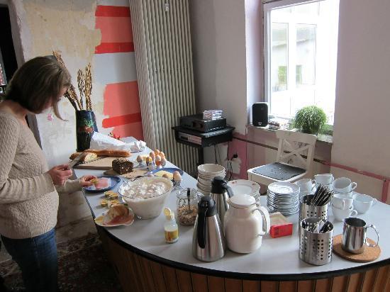 Foto-Motel: Frühstück