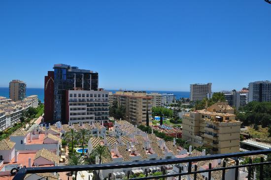 Complejo Los Pintores: vista desde la terraza,Benalmadena Costa
