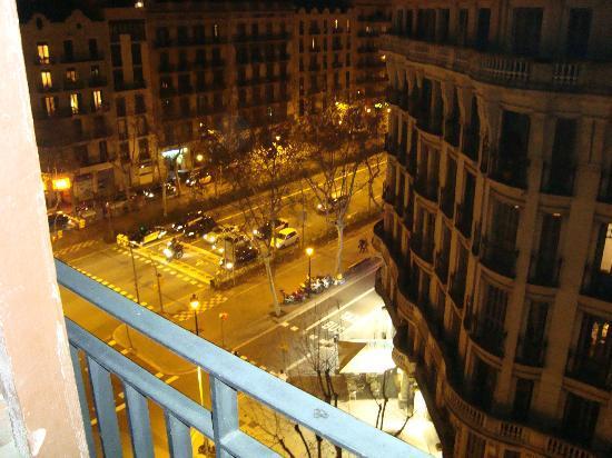 Gastehaus Gran Via: Vistas de noche