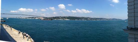 Bosphorus Palace Hotel: Odanın panoramik manzarası