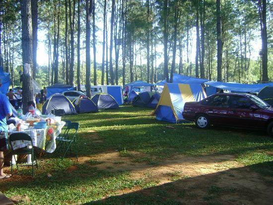 Lagoa Termas Parque: Área de camping