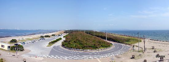 Futtsu, Japan: 明治百年記念展望塔 富津公園 富津岬