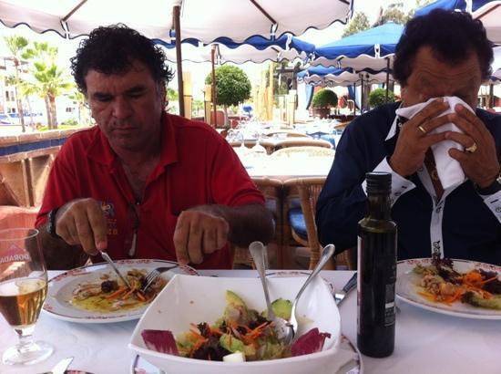 El Faro: comida