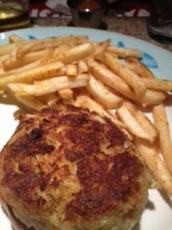 Blue Point Provision Company: Amazing crabcakes and old bay fries. Great MD meal!