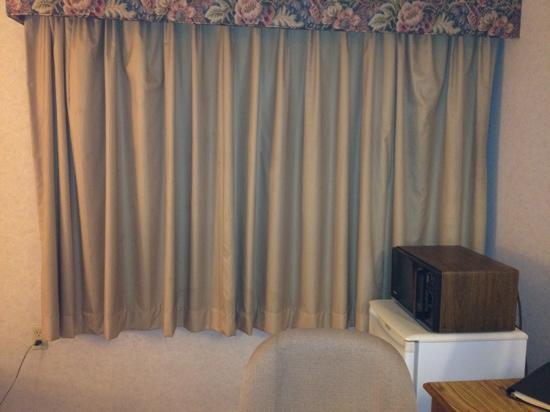 Clarion Hotel Airport: curtains