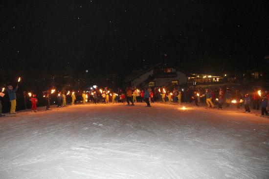 a.s.d. Snowdreamers Cortina: Fiaccolata