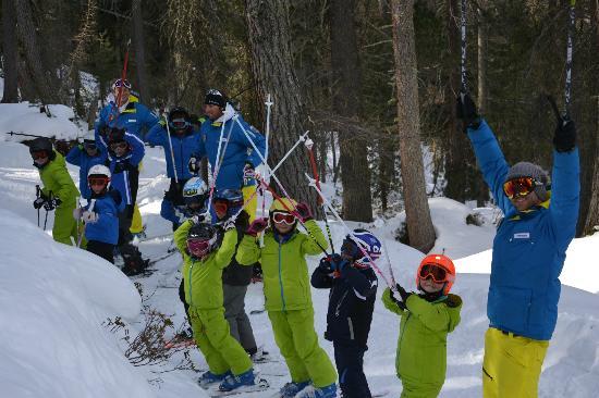 a.s.d. Snowdreamers Cortina: Lezioni di gruppo