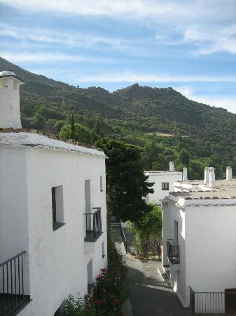 Hotel Villa de Bubion: Vistas desde uno de los balcones