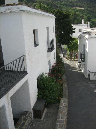 Hotel Villa de Bubion: Desde uno de los balcones 