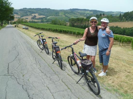 Villa Le Torri: Tuscany Bike & Wine Tour